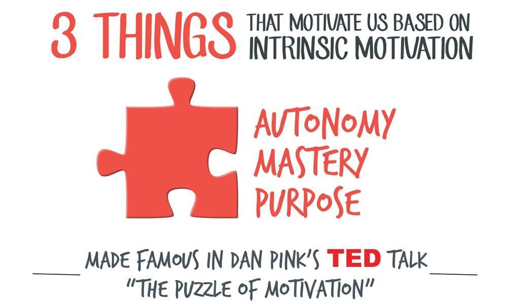 Dan Pink: Autonomy, mastery, purpose