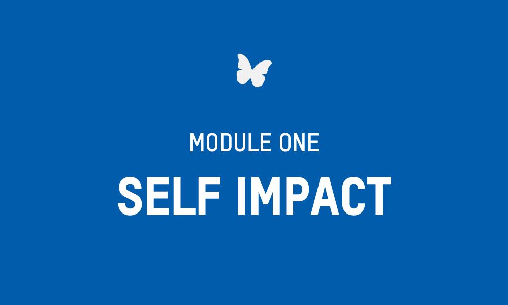 Evolve Module 1 – SELF IMPACT Workbook