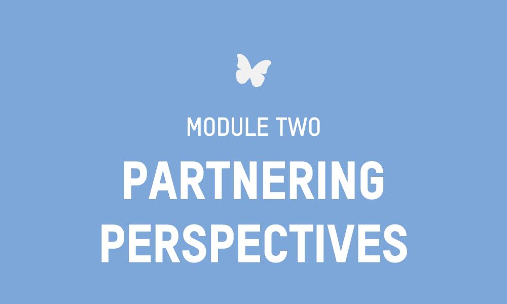 Evolve Module 2 – PARTNERING PERSPECTIVES Workbook