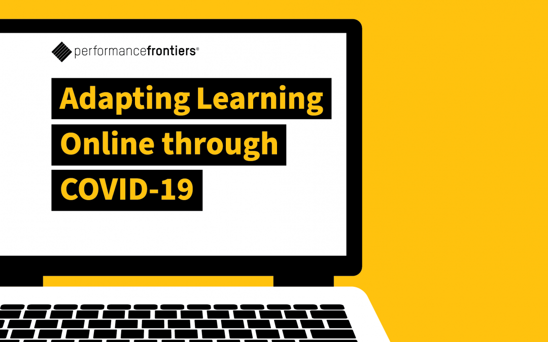 Adapting Learning Online: 6 Emerging Priorities