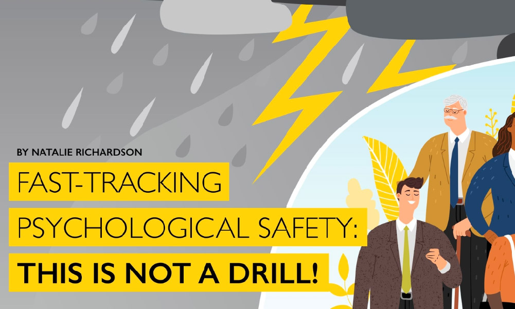 Training Industry Magazine Feature: Psych Safety