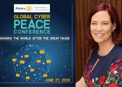Hayley Linthwaite to present at Global Cyber Conference for Peace