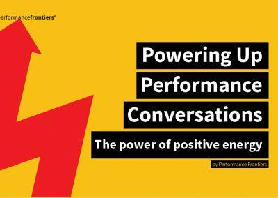 Energising Performance Conversations