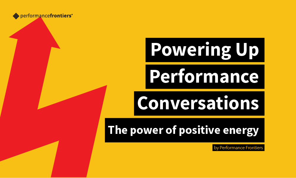 Energising Performance Conversations