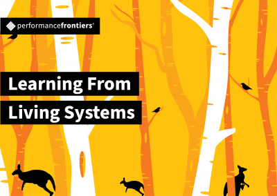 Learning From Living Systems
