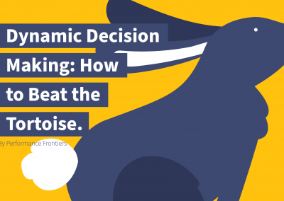 Dynamic Decision Making: How to Beat the Tortoise