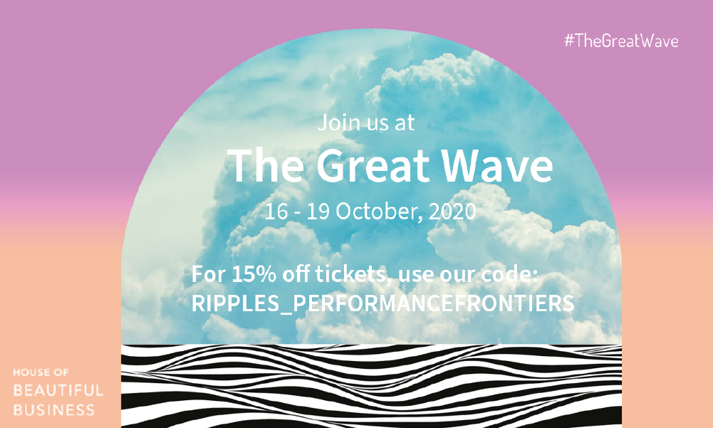 Join us at The Great Wave, Oct 16-19 2020